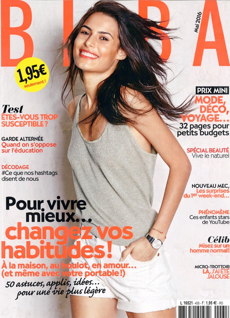 Mariana on cover for Biba