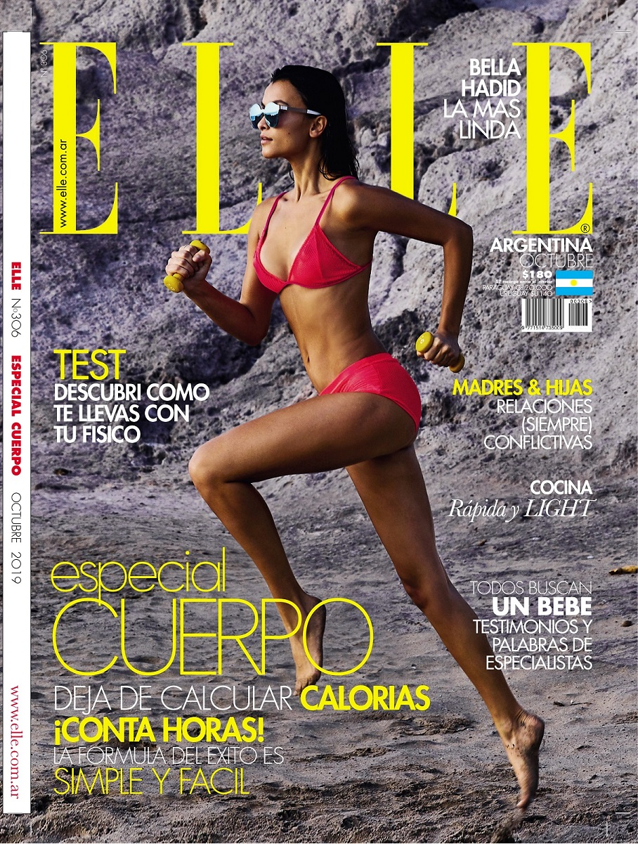 Uelyca in cover for Elle